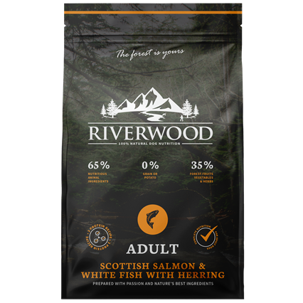 Riverwood Hond Scottish Salmon & White Fish With Herring