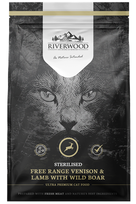 Riverwood Sterilised Kat - Hert & Lam met Everzwijn